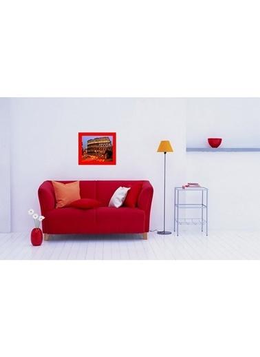 LWP Shop Roma Metal Tablo 53x45 cm Kırmızı